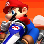 Mario racing mountain