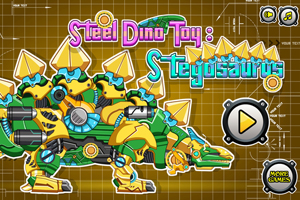 Steel Dino Toy: Mechanic Stegosaurus