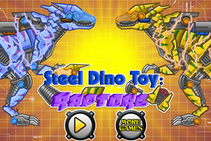 Steel Dino Toy:Mechanic Raptors