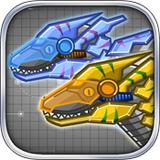 Steel Dino Toy:Mechanic Raptors