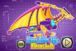 Steel Dino Toy:Pterosaurs