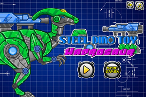 Steel Dino Toy:Mechanic Hadrosaurs