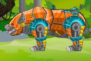 Assembly machines bear Machine zoo series
