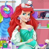 Pregnant Ariel Room Makeover