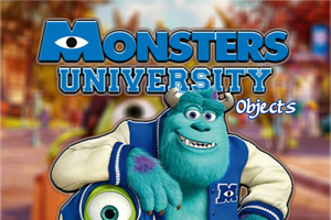 Monsters University Objects