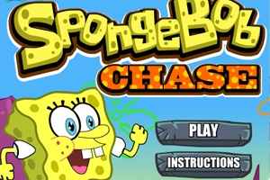 spongebob chase