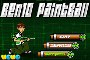 Ben10 Paintball