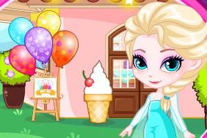 Elsa's Ice Cream Shop