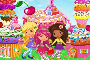 Strawberry Gingerbread Magic Land