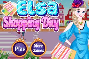 Elsa Shopping Day