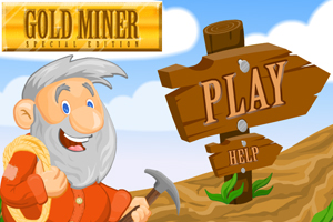 Gold Miner Special Edition Flash Game