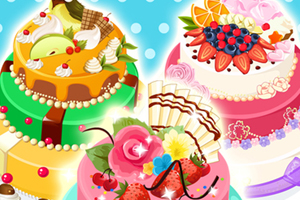 Summer Party Cake - Cooking games for free