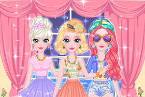 Perfect Night Fashionista Girls Dress Up Games