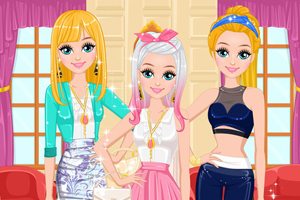 Fashion Blogger Contest - Girls Dress Up games