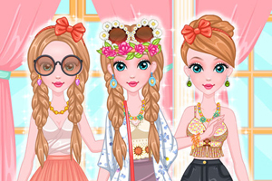 Music festival fashion - Dress up Games for Girls