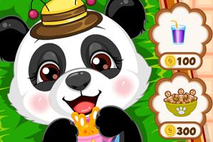 Cute panda - Pet feeding Dressup develop game